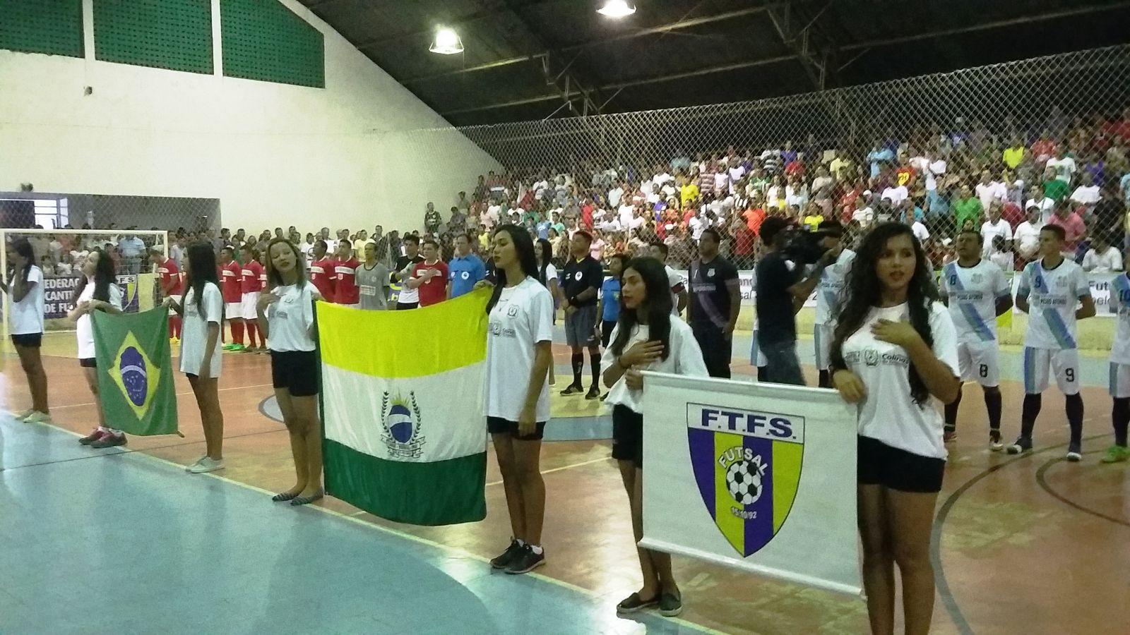 Colinas vence Pedro Afonso e é campeão Estadual da Série Ouro 20161119 205529