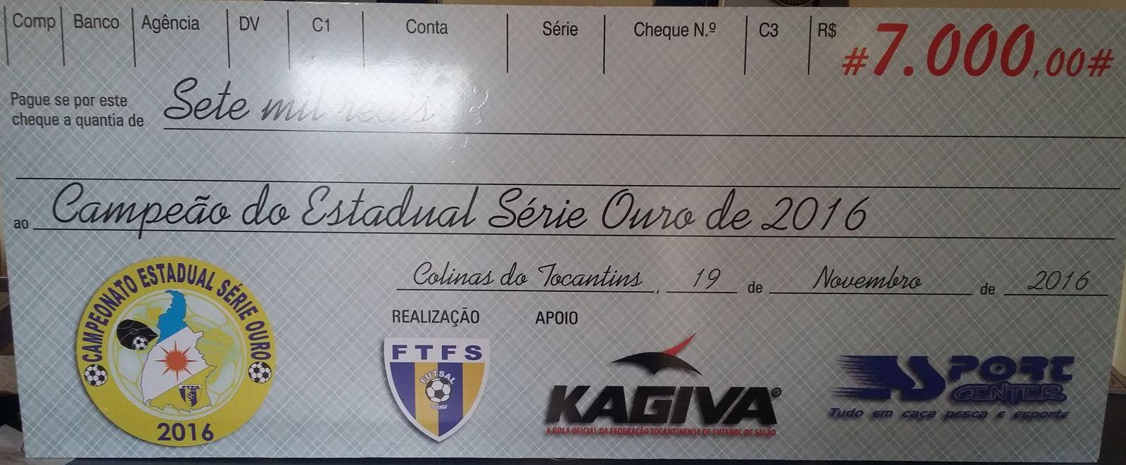 Colinas e Pedro Afonso decidem hoje o título do Estadual Série Ouro CHEQUE 201